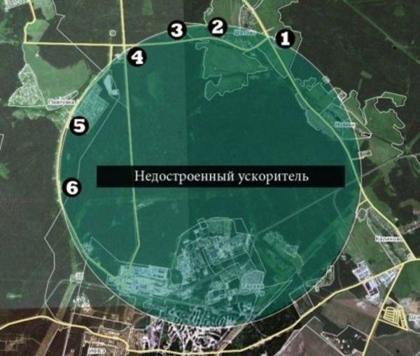 В СССР адронный коллайдер начали строить еще в 1960