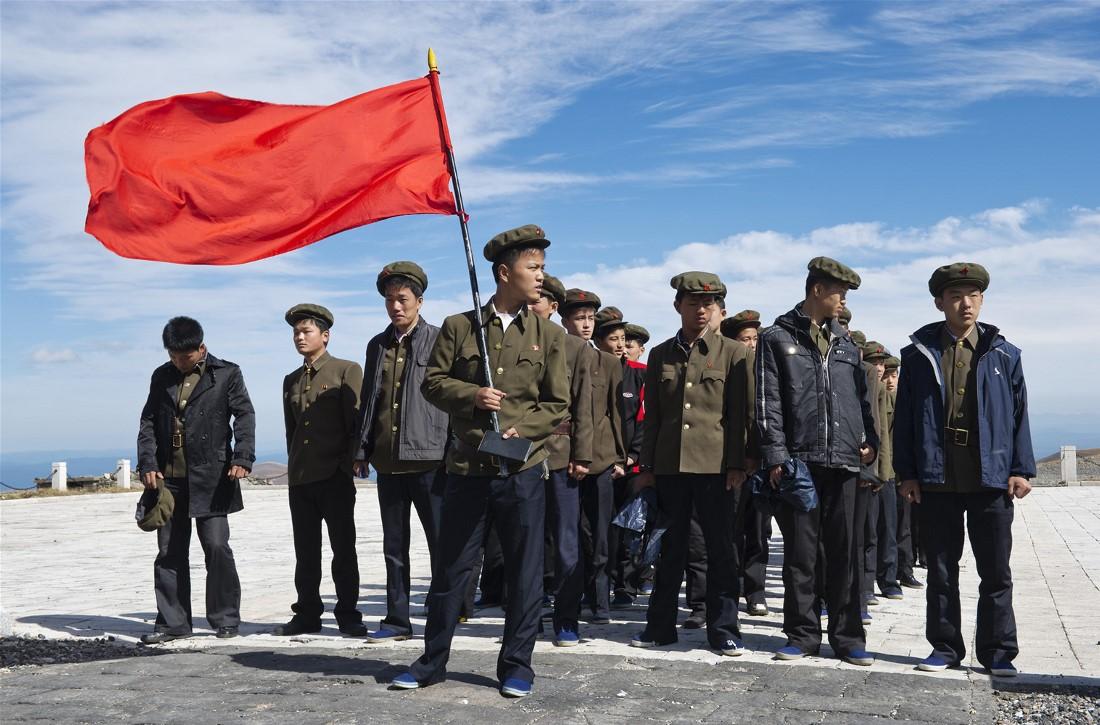 Северная Корея в фотографиях Кристиана Ослунда (55 фото)