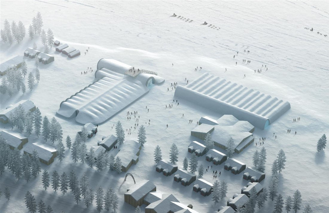 Шведский ледяной отель Icehotel (10 фото)