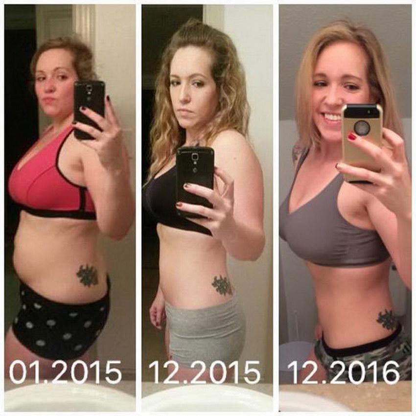 Впечатляющие результаты похудения \До и после\ (40 фото)