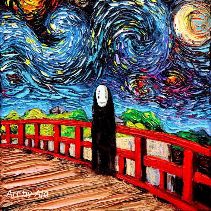 Чего ещё не видел Ван Гог? (39 фото)