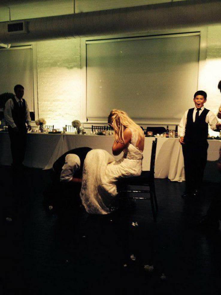 Забавные свадебные фото - 3 (50 фото)