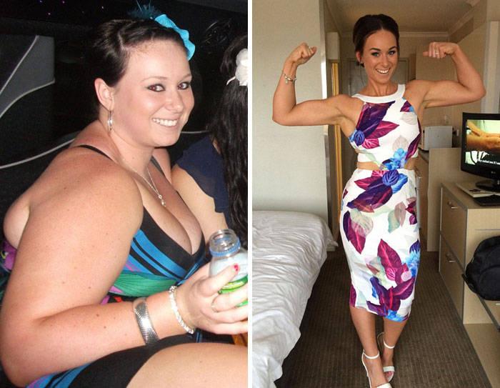 Впечатляющие результаты похудения \До и после\ - 3 (45 фото)