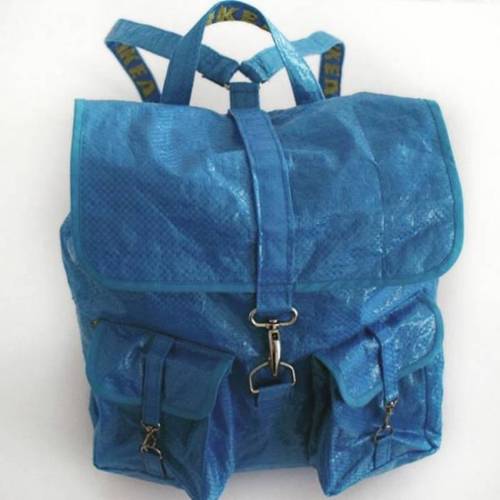 Новый тренд: одежда из хозяйственной сумки за 99 центов (23 фото)
