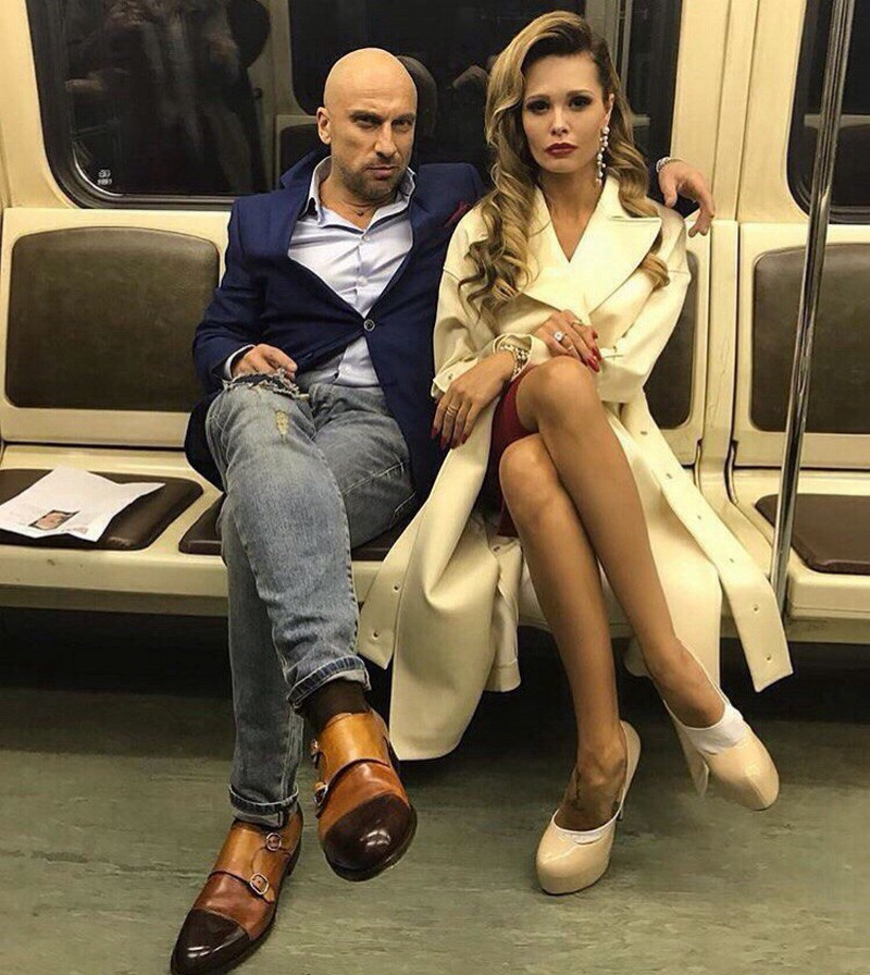 Модники и чудики из российского метрополитена (36 фото)