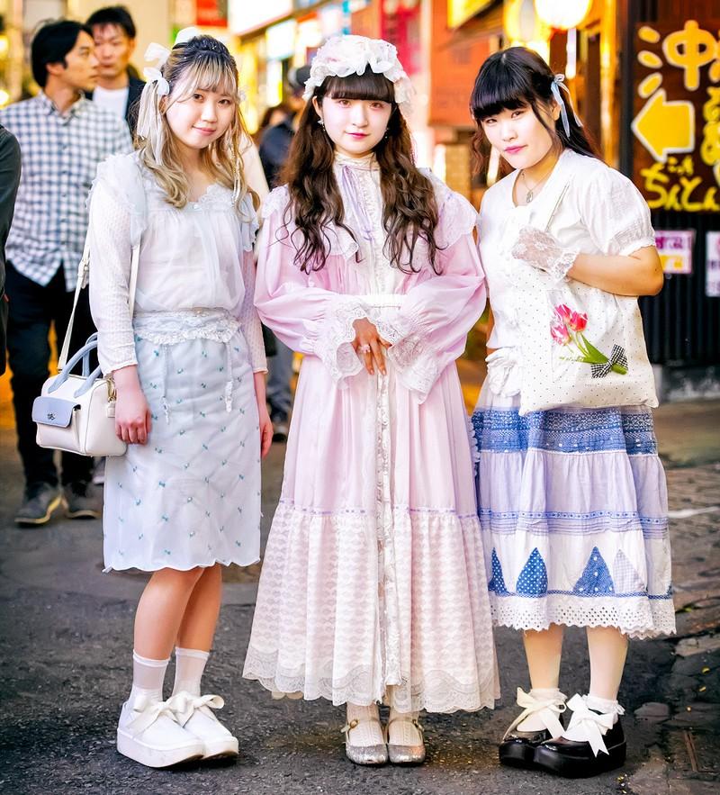 Интересные и модные персонажи с улиц Токио (31 фото)