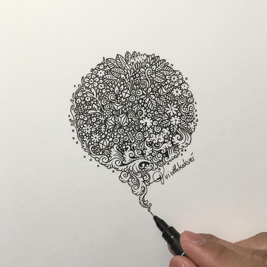 Невероятно детализированные 2D рисунки (30 фото)