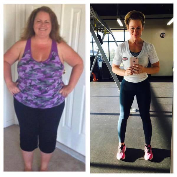 Впечатляющие результаты похудения \До и после\ - 4 (35 фото)