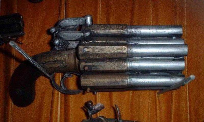Странное но все еще смертоносное оружие (36 фото)