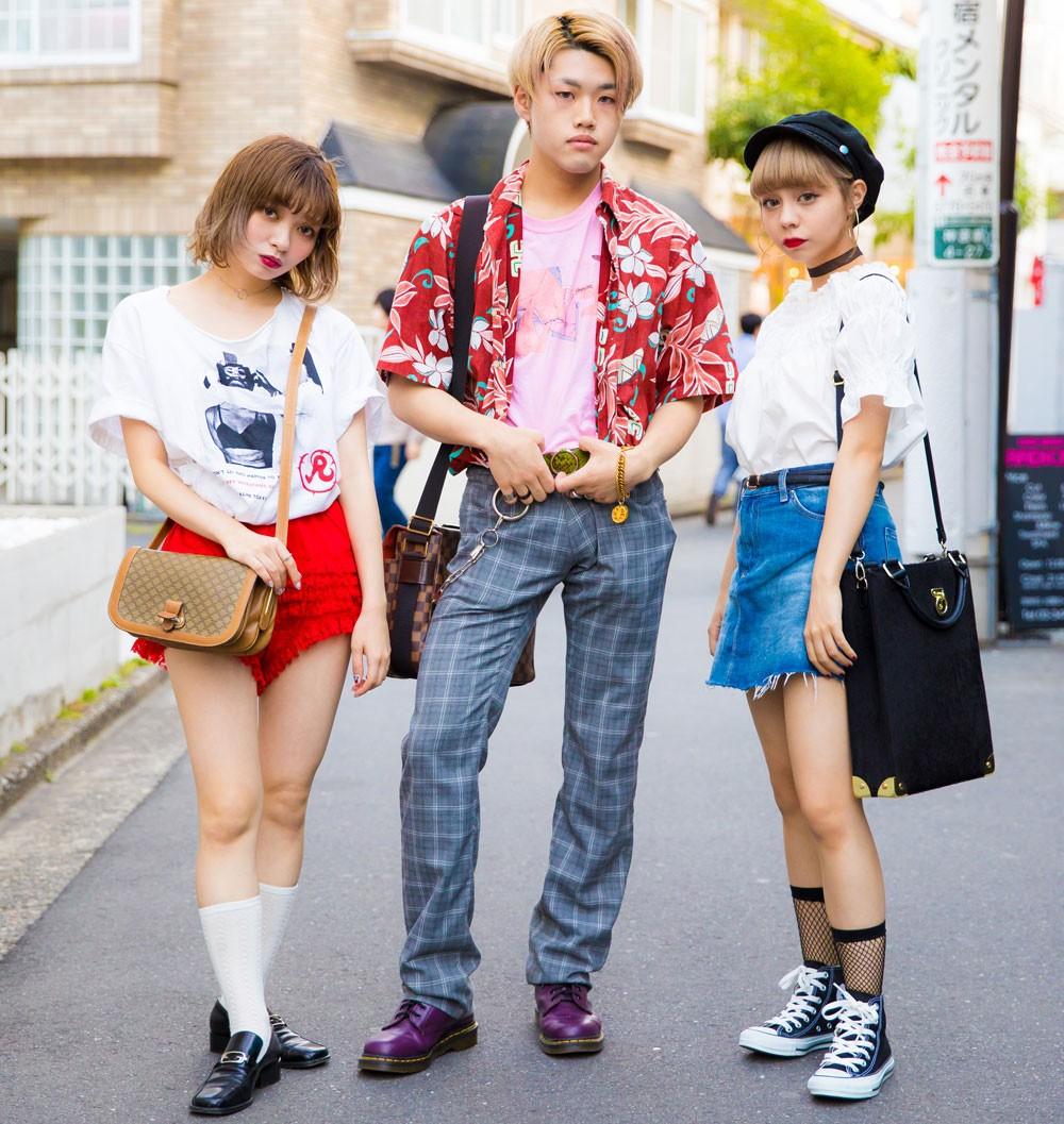 Интересные и модные персонажи с улиц Токио - 2 (35 фото)