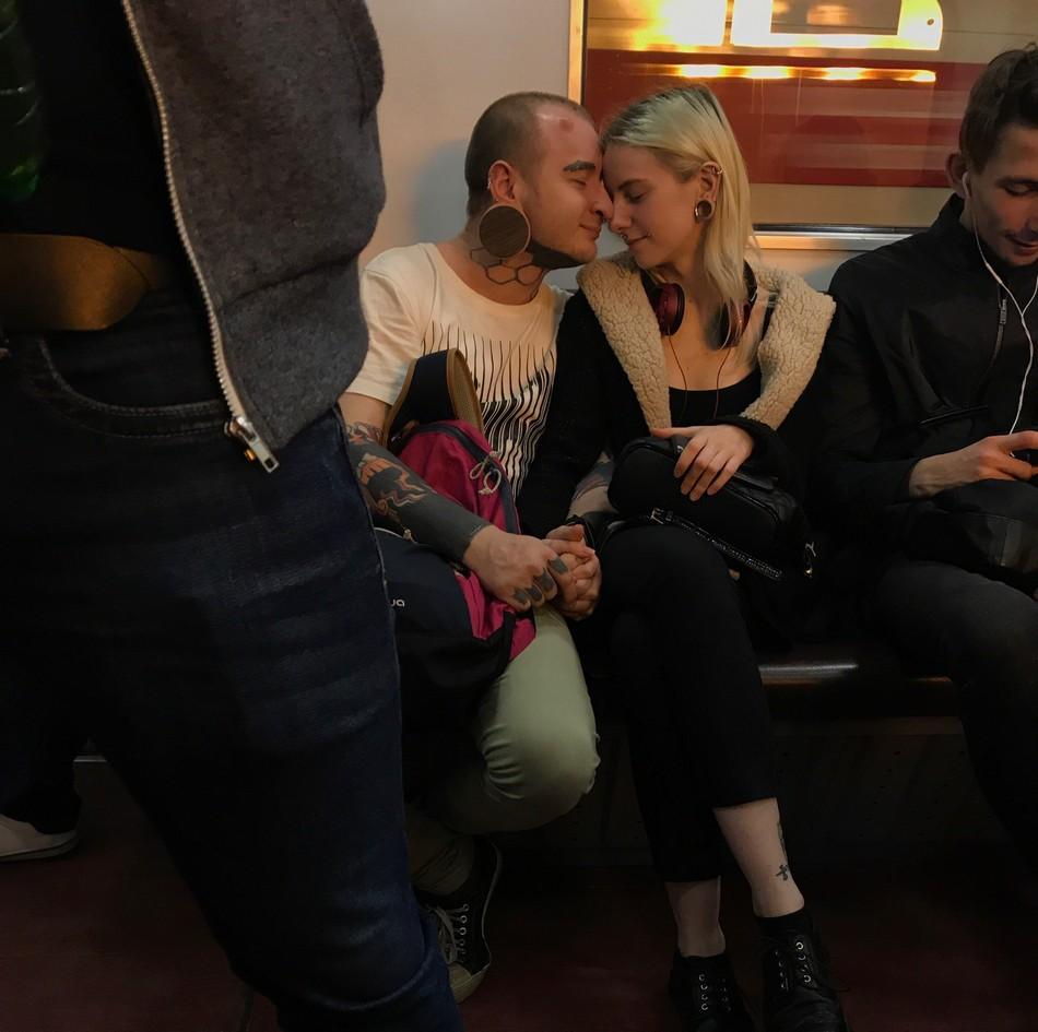 Модники и чудики из российского метрополитена - 9 (40 фото)