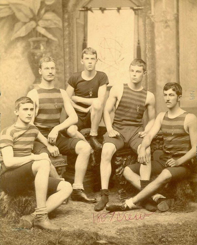 Спортсмены прошлого - гребцы (45 фото)