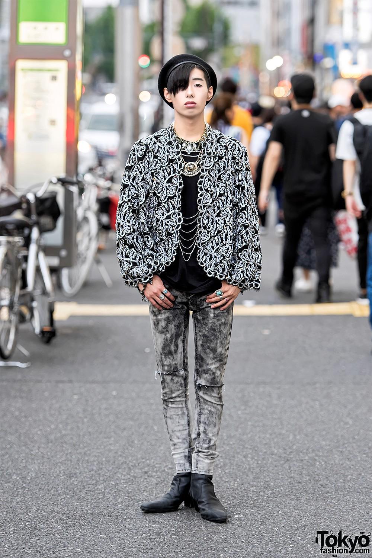 Интересные и модные персонажи с улиц Токио - 3 (35 фото)
