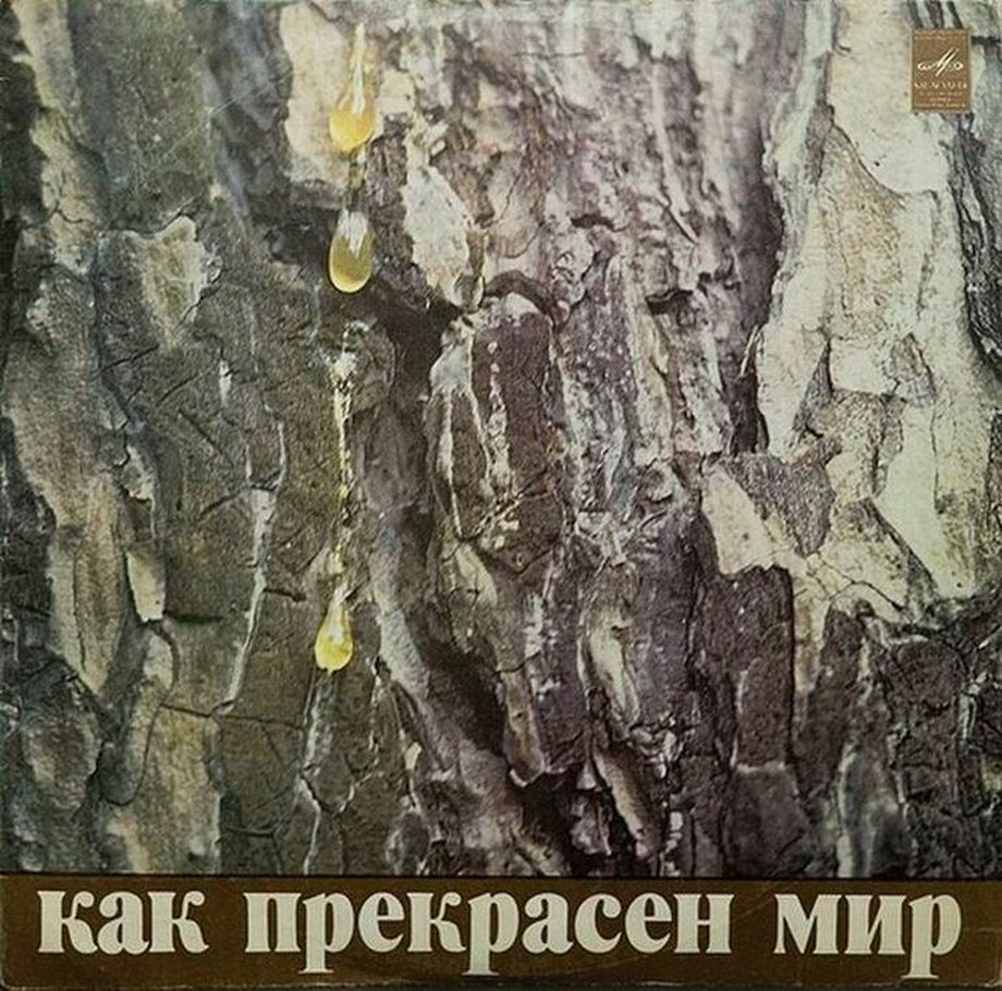 Старые виниловые пластинки из СССР