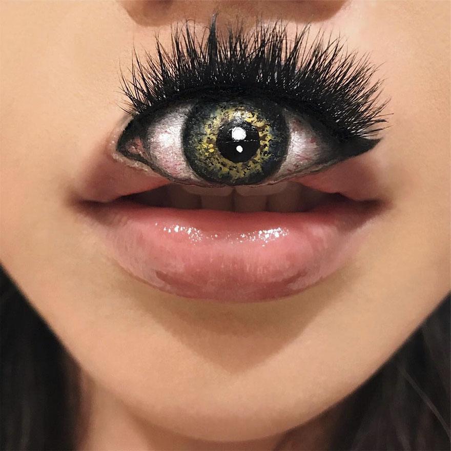 Невероятные оптические иллюзии в макияже