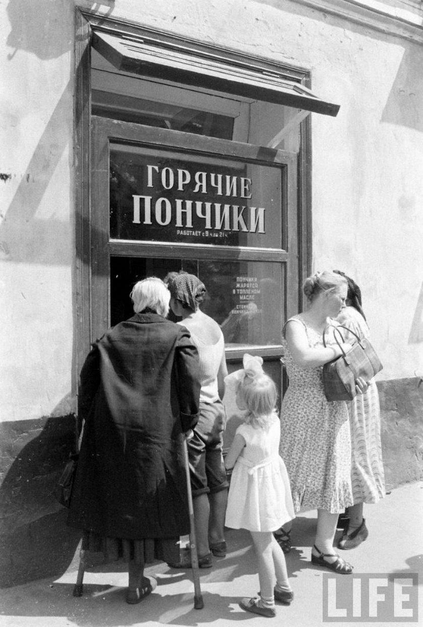 1960 год в ларьках и витринах московских магазинов (36 фото)