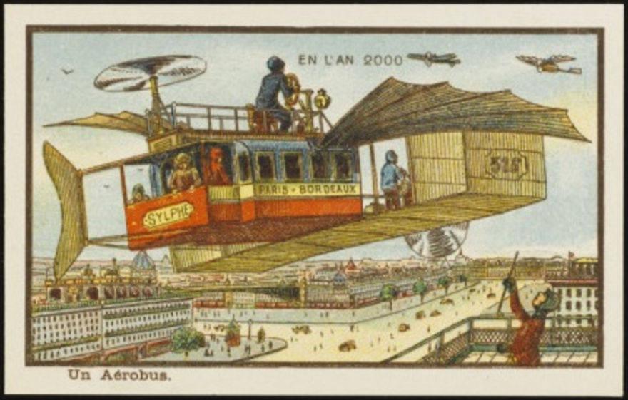 Как люди представляли будущее 100 лет назад