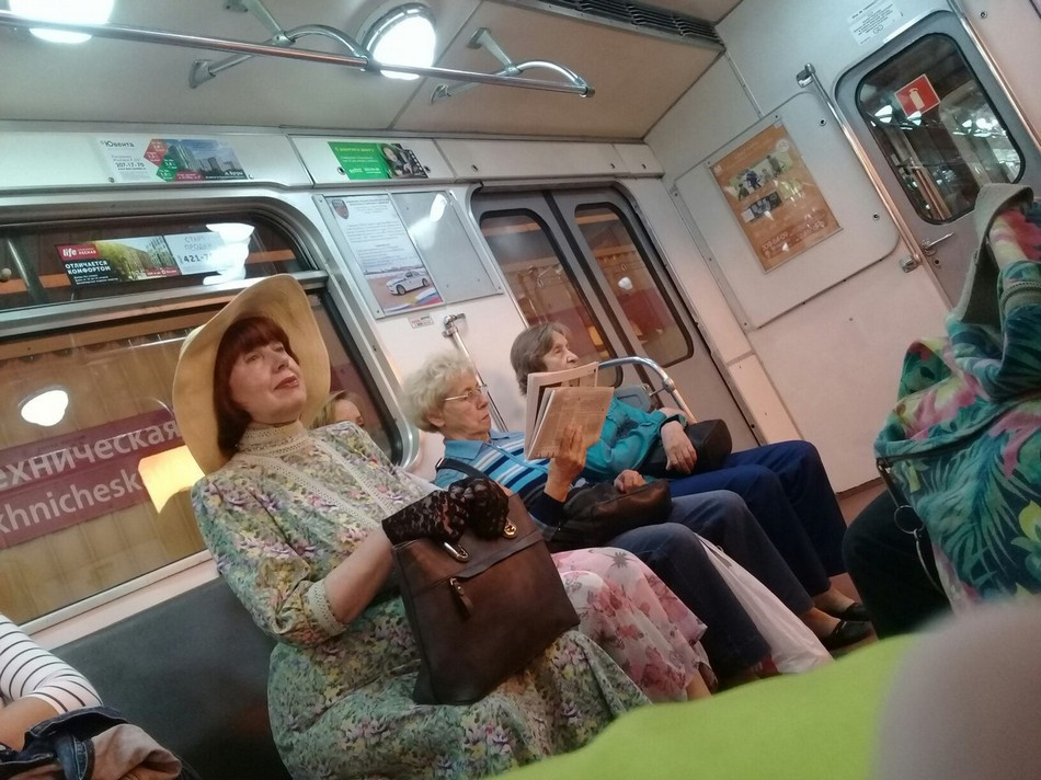Модники и чудики из российского метрополитена - 12 (36 фото)