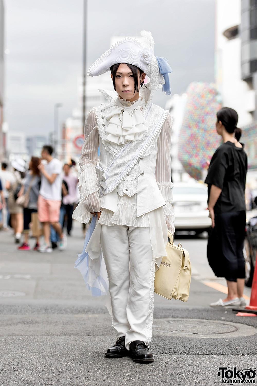 Интересные и модные персонажи с улиц Токио - 4 (35 фото)