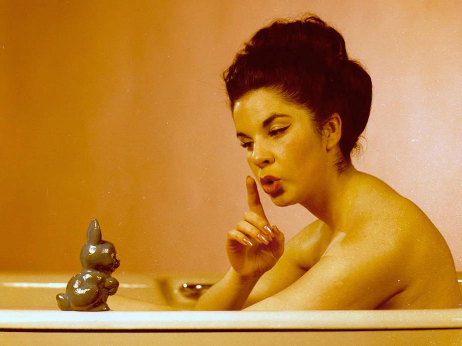 Странные фотографии моделей 1960-х годов (21 фото)