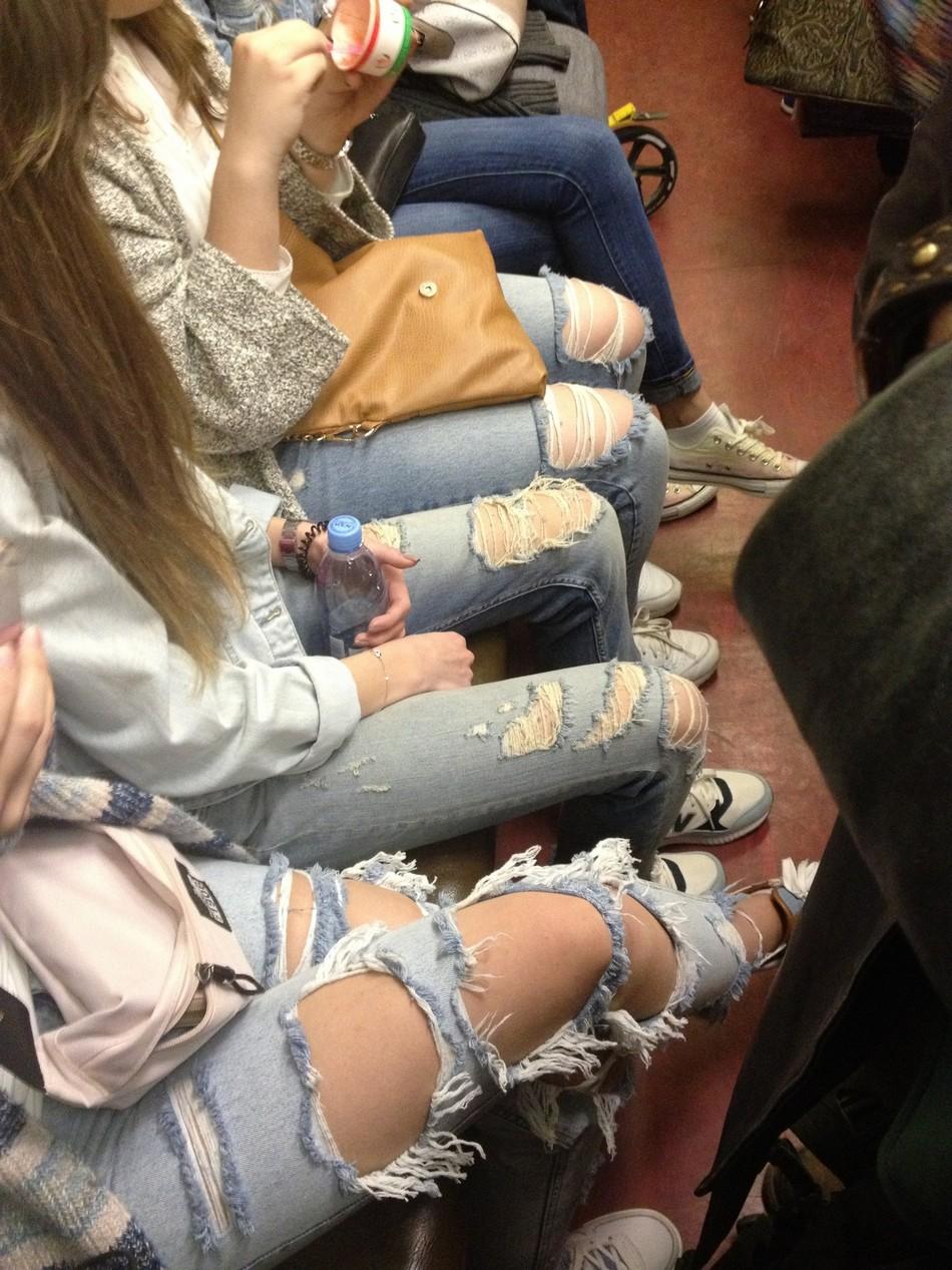 Модники и чудики из российского метрополитена - 14 (45 фото)