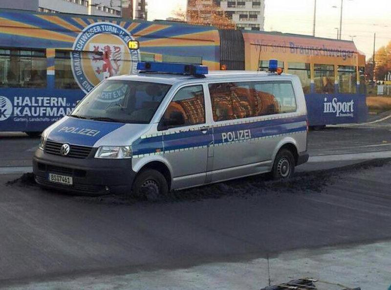 Веселые полицейские будни