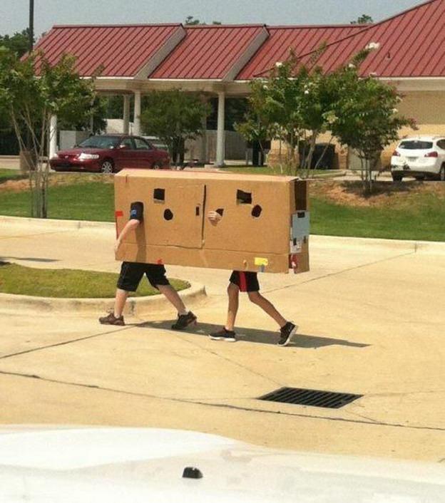 Странные люди делают странные вещи