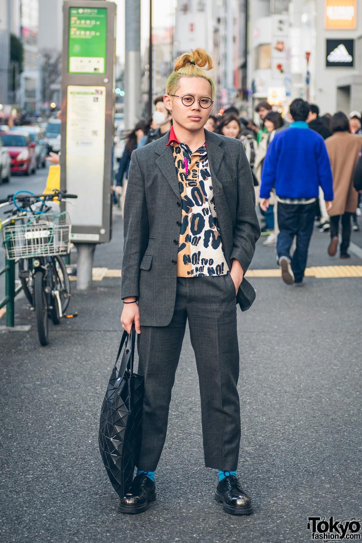 Интересные и модные персонажи с улиц Токио - 5 (35 фото)