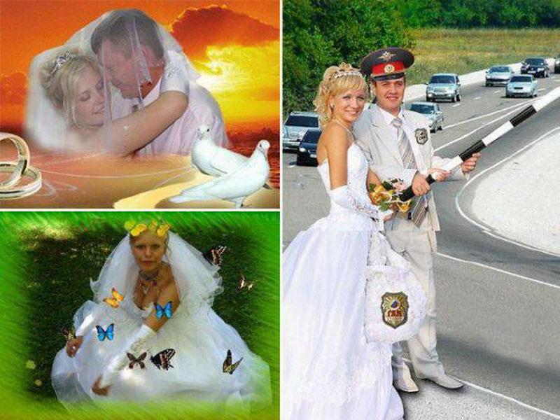 Свадебные фотографии не могут быть плохими