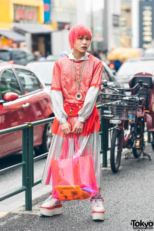 Интересные и модные персонажи с улиц Токио - 6 (65 фото)