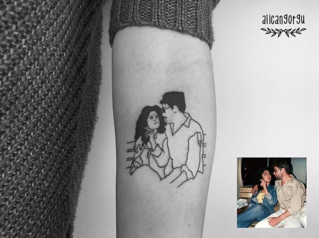 Татуировки которые вечно сохранят воспоминания (25 фото)
