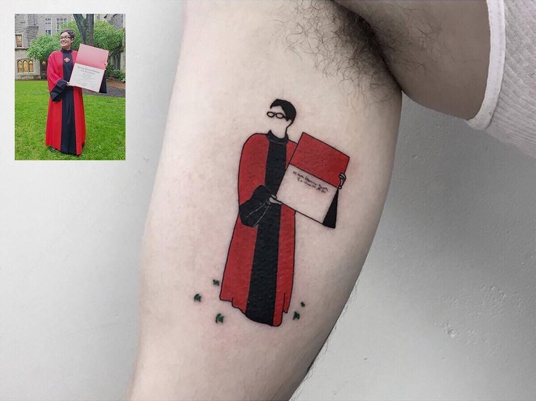 Татуировки которые вечно сохранят воспоминания