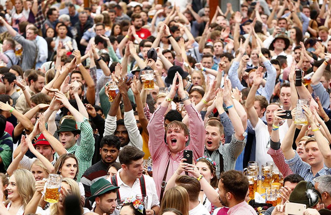 Октоберфест стартовал в Мюнхене