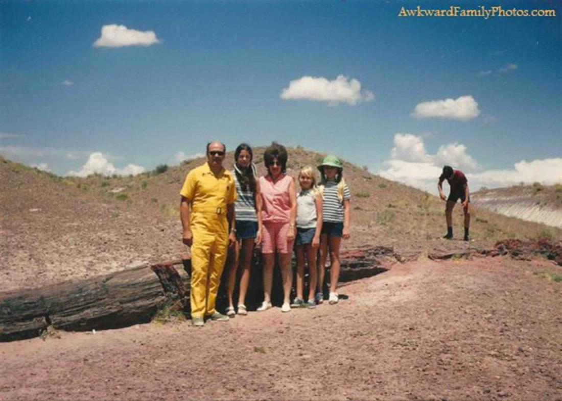 Необъяснимые семейные фотографии