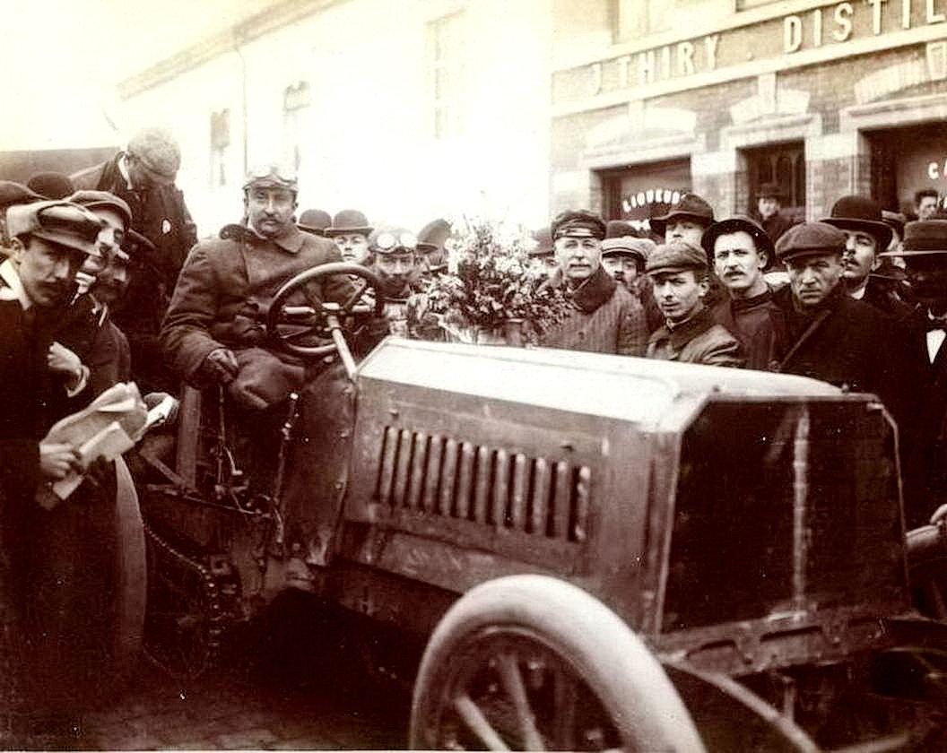 Автомобильные гонки начала 20-го века (50 фото)