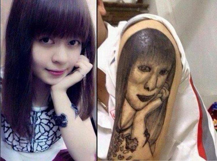 Вероятно самые дурацкие татуировки в мире (32 фото)