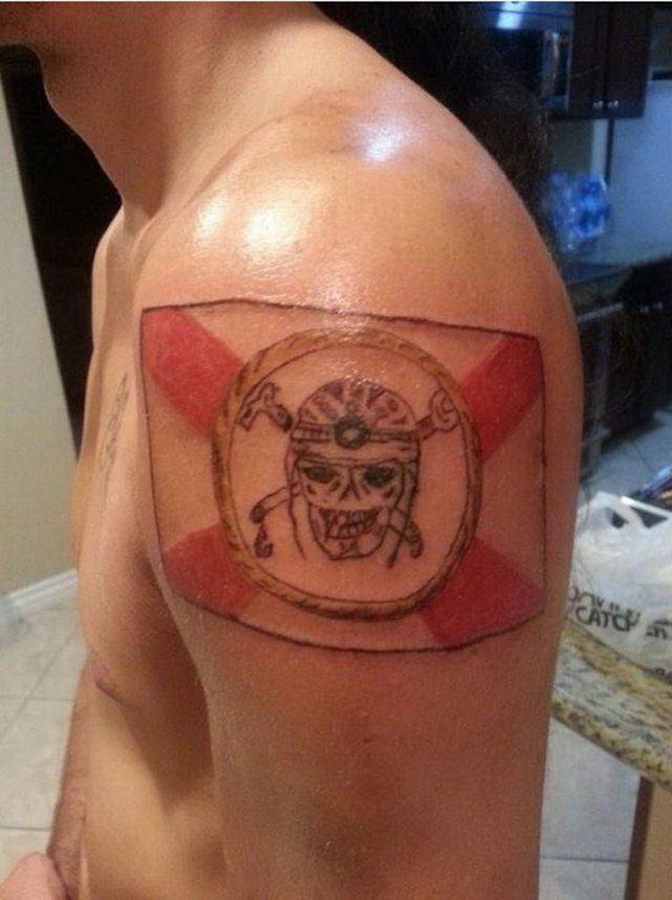 Вероятно самые дурацкие татуировки в мире