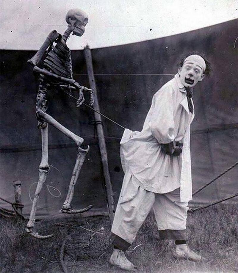 Странная и пугающая скелетная эротика