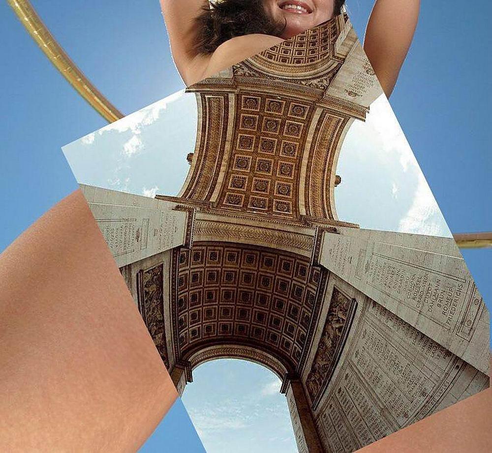 Когда архитектура встречается с эротикой
