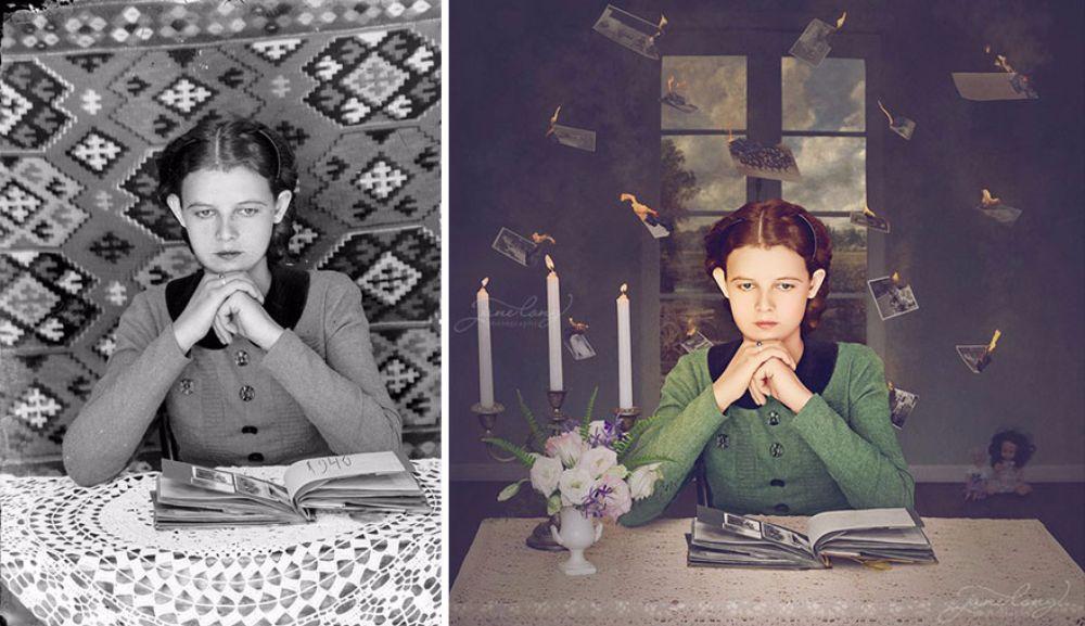 Причудливая реставрация старых фотографий (20 фото)