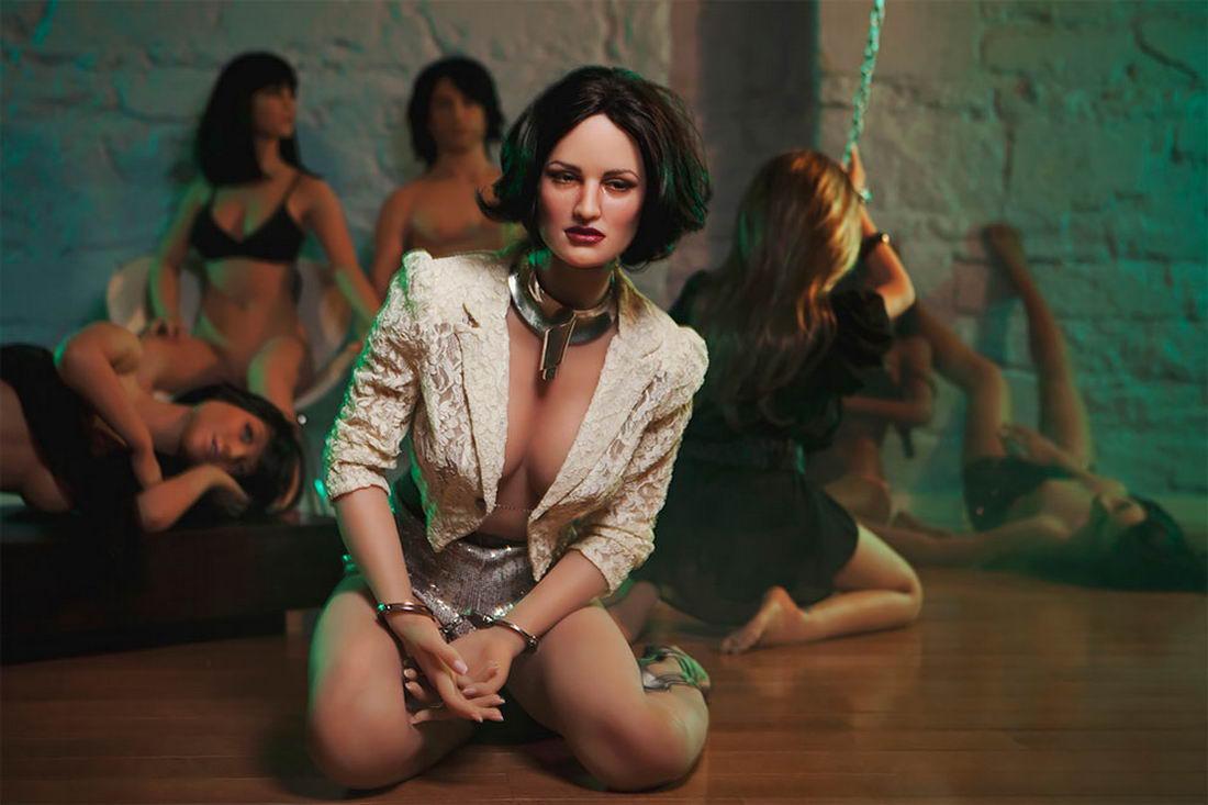 Секс-куклы в портретной съемке Стейси Ли