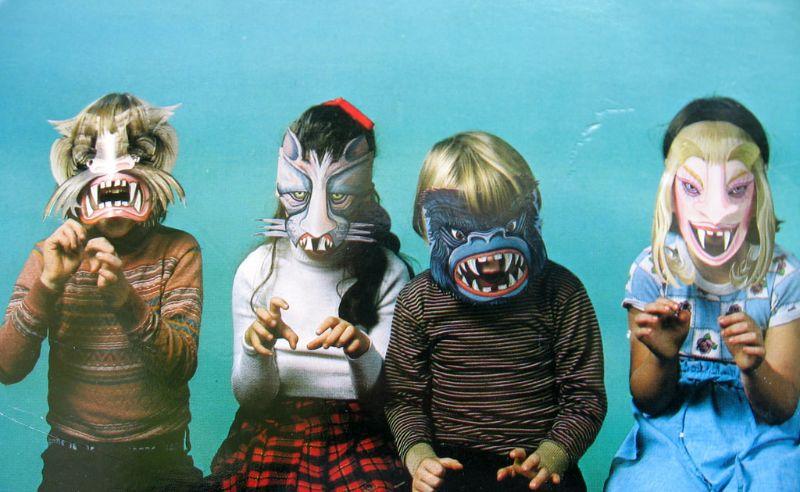 Страшно веселые детские костюмы к Хэллоуин (60 фото)