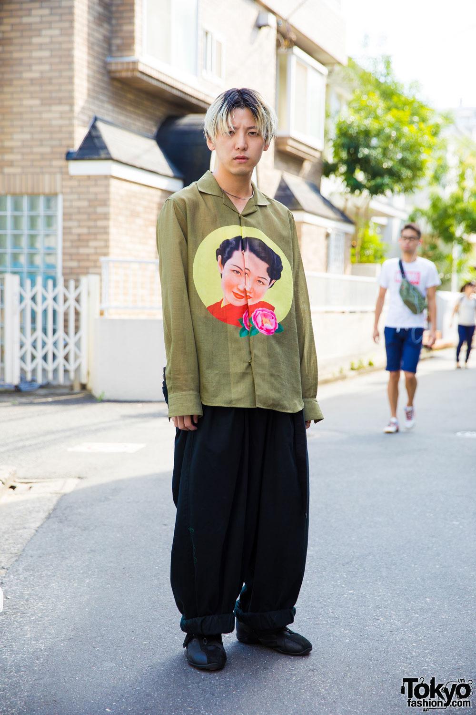 Интересные и модные персонажи с улиц Токио - 8 (40 фото)