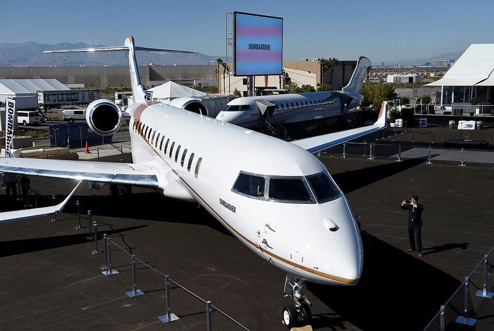 Частный самолет за $72 000 000