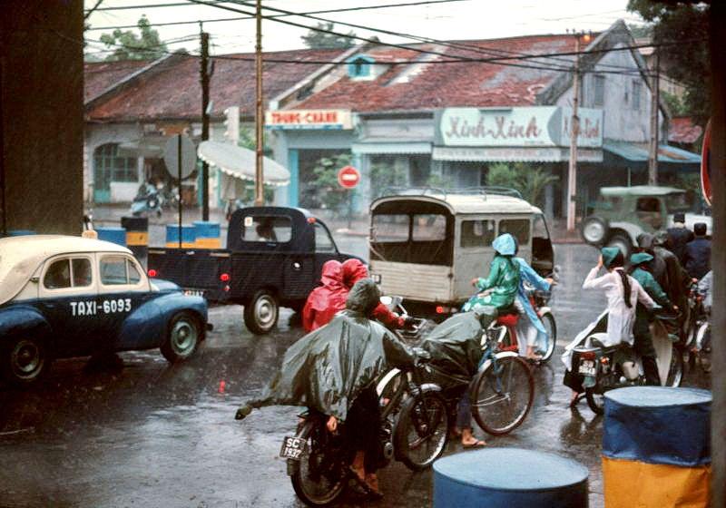 Уличные сцены Сайгона, Вьетнам в начале 1970-х (40 фото)