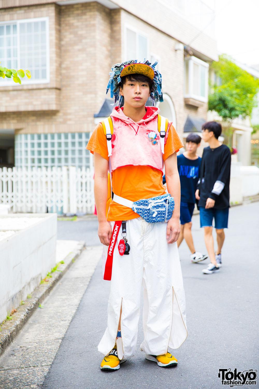Интересные и модные персонажи с улиц Токио - 9 (40 фото)