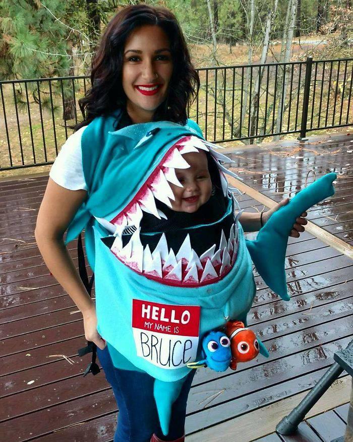 Веселая тема для детского костюма на Хэллоуин