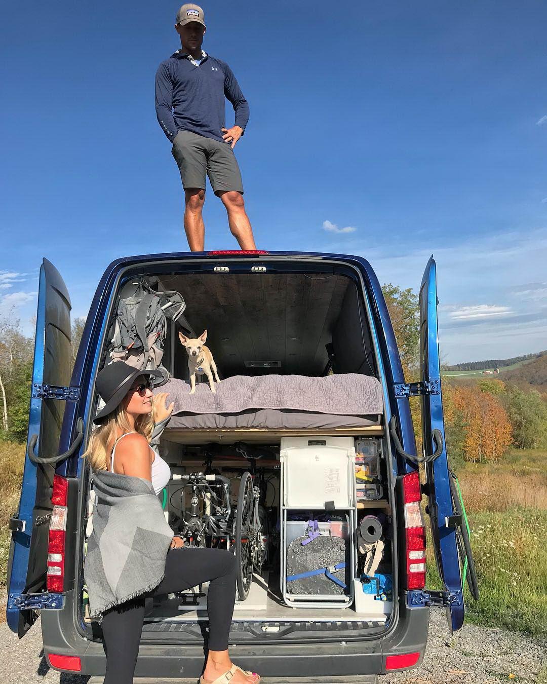 Путешествие в фургоне по США