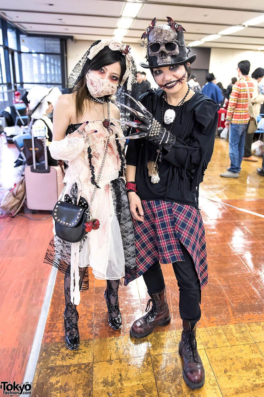 Интересные и модные персонажи с улиц Токио - 10 (45 фото)