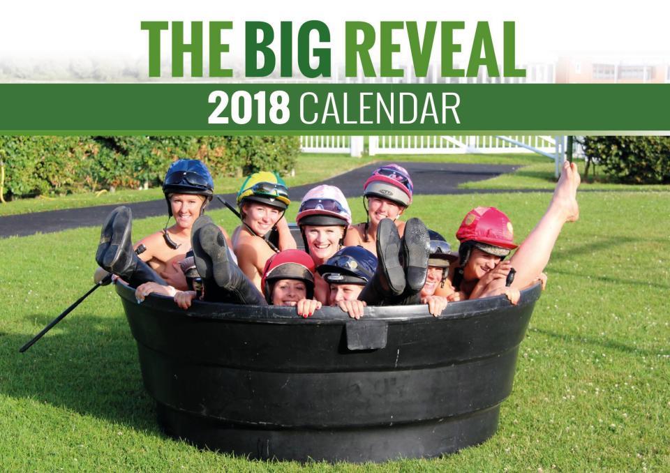 Женщины-жокеи разделись для благотворительного календаря